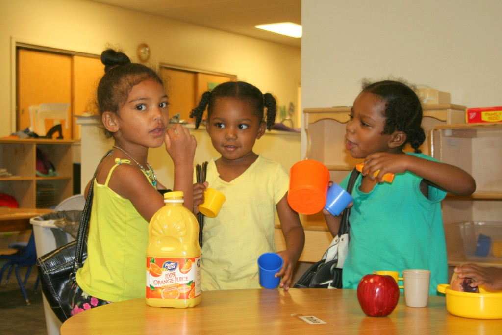 Playing Children at RCN Center City Day Care in Sibley Building