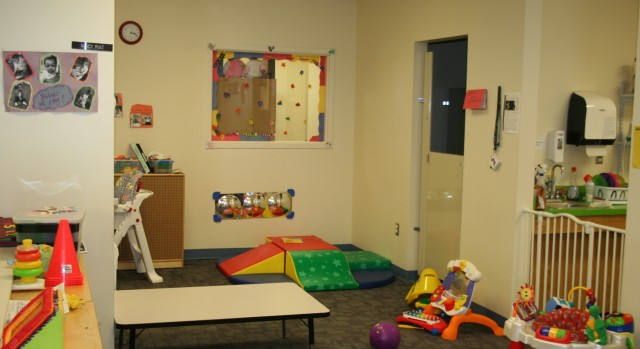 Infant Play area RCN Center City Day Care, at Sibley Building