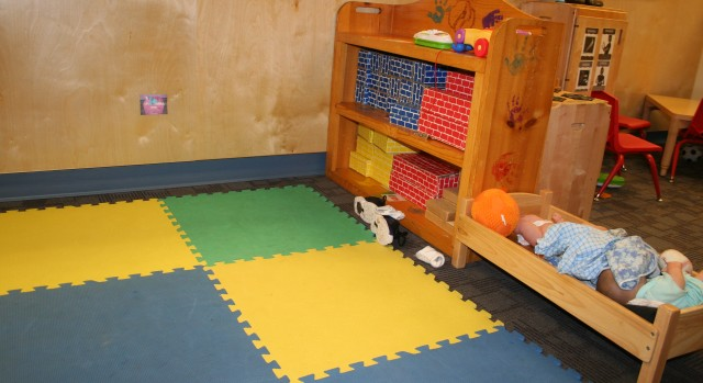 Indoor Group Play Area Active Play Indoors RCN Center City Day Care, at Sibley Building